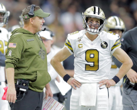 f63de1afa35 The New Orleans Saints have long known which teams they ll play in 2019